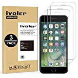 [Lot de 3] iPhone 8 / 7 / 6S / 6 Protection écran [Compatible fonction 3D Touch], iVoler Film Protection d'écran en Verre Trempé Glass Screen Protector Vitre Tempered pour iPhone 8 / 7 / 6S / 6 4.7'' - Dureté 9H, Ultra-mince 0.30 mm, 2.5D Bords Arrondis- Anti-rayure, Anti-traces de Doigts,Haute-réponse, Haute transparence- Garantie de Remplacement de 18 Mois