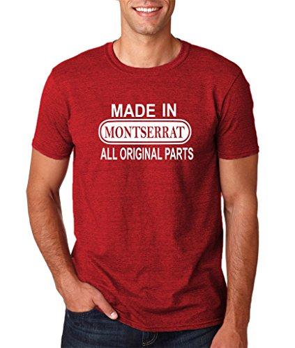 Daataadirect Herren T-Shirt Antique Cherry