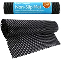 New Multipurpose Non-Slip Mat - Ideal To Use At Home & Office, Cars, Caravans - Anti Slip Mat Roll - Keeps Items In Place, Protects Furniture - Can Be Cut To Any Size Easily by Rose Evans - Gomma Car Mats