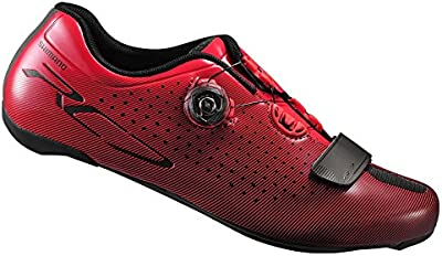 Shimano Scarpa Shimano Road SH-RC700 Unisex Red Size Size 49