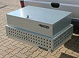 Palatino Exclusive Line CARGOBOAR Staubox abschließbar für Wildträger/Heckträger Premium | 130 Liter