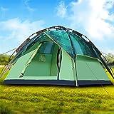 YuFLangel 3–4Doppel Camping Schatten Automatische Outdoor Zelt Doppel-Mehrpersonen Camping Zelt