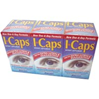 I-Caps With EXTRA Lutein and Zeaxanthin Dietary Supplement for Healthy