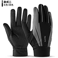 6132082bf49ac3 Touchscreen-Handschuhe Outdoor Handschuhe für Herren im Winter warm Plus  Samt Rutschfester Full-Finger