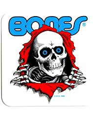 Powell Peralta Skateboard autocollant-Old School-Ripper-Largeur :  environ 12,5 cm-Transparent