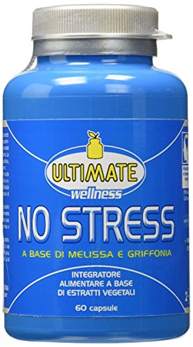5133c37nCpL - Ultimate Italia No Stress Integratore a Base di Estratti Vegetali - 60 Capsule