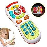 Baby-Fernbedienung Spielzeug mit Multifunktionen,Lichtern und Musik,klicken und zählen Fernbedienung,beste Geschenke für frühe pädagogische Baby-Spielzeug für 1-jährig für Kleinkinder,Jungen und Mädchen