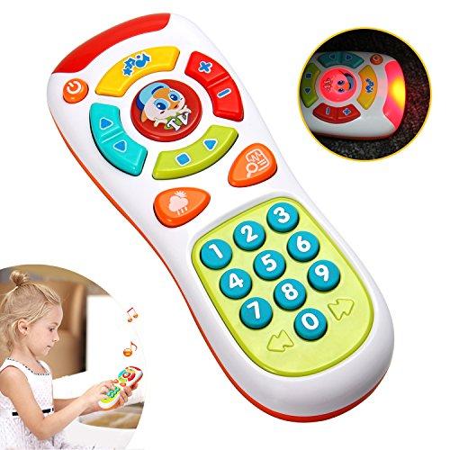 pielzeug mit Multifunktionen,Lichtern und Musik,klicken und zählen Fernbedienung,beste Geschenke für frühe pädagogische Baby-Spielzeug für 1-jährig für Kleinkinder,Jungen und Mädchen (Beste Spielzeug Für Kleinkinder)