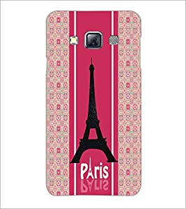 PrintDhaba Tower D-4771 Back Case Cover for SAMSUNG GALAXY A3 (Multi-Coloured)