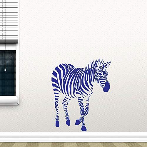 Wilde Tier Kinderzimmer Dekoration Nette Afrika Zebra Wohnkultur Vinyl Art Removable Poster Beauty Decals Wandaufkleber 114 * 130 cm