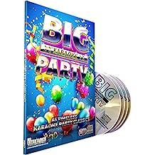 Mr Entertainer Karaoke Big Party - 4 x CD+G (CDG) Pack. 85 Songs