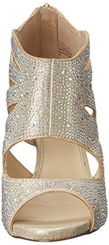 Betsey Johnson Nola Textile Sandale Gold