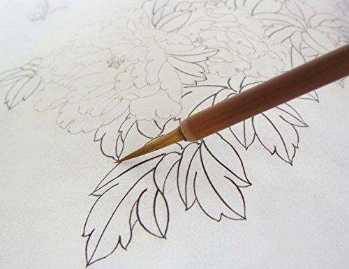 Al por mayor chino pintura cepillos pinceles de dibujo Línea Extra fina Stroke 5unidades