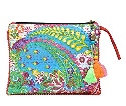 The House Of Tara Kantha Work Clutch HTCL 11