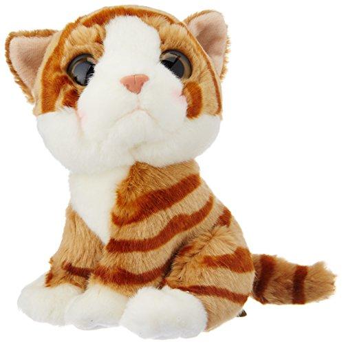 Wild Watcher - Peluche Gato,Naranja,Tigre,18Cm