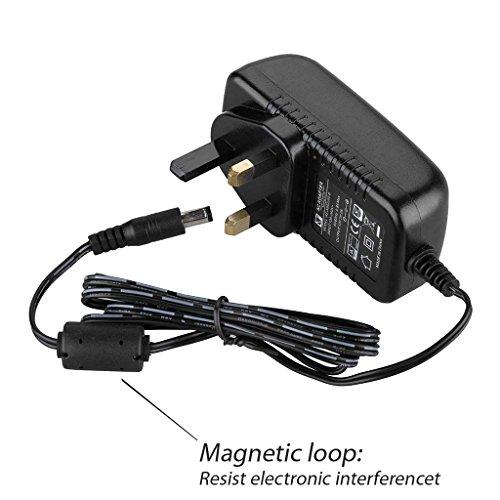 UK 12V 2A AC-DC-Adapter Adapter 3Pin UK Transformer Konverter Ladegerät Netzteil für American DJ Duo Station LICHT Controller
