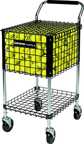 GAMMA Ballhopper Brute Teaching Cart 325, Ballwagen, BHB, schwarz