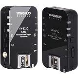 Yongnuo YN-622C Funk Auslöser E-TTL Blitzauslöser für Canon EOS 7D/5D Mark II/III/EOS 60D/650D/600D/50D/600EX/RT 580EXII/430EXII TTL + WINGONEER Klappbares Softbox und deutscher Anleitung