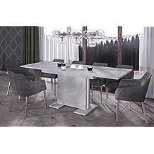 suchergebnis auf f r esstisch betonoptik. Black Bedroom Furniture Sets. Home Design Ideas