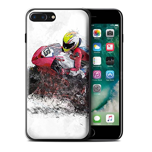Coque de Stuff4 / Coque pour Apple iPhone 5C / Croquis de Moto Design / Fragments Collection Croquis de Moto