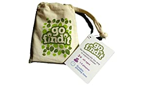 gofindit - outdoor nature treasure hunt card game for families