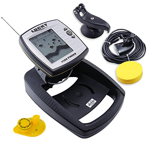 Lucky 2 in 1 Draht 100 m und 40 m Wireless Fisch-Finder