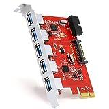 CSL–USB 3.0interfaccia PCI Express Card controller (UK) A: 5 port incl. header USB 3.0 PCI express interfa