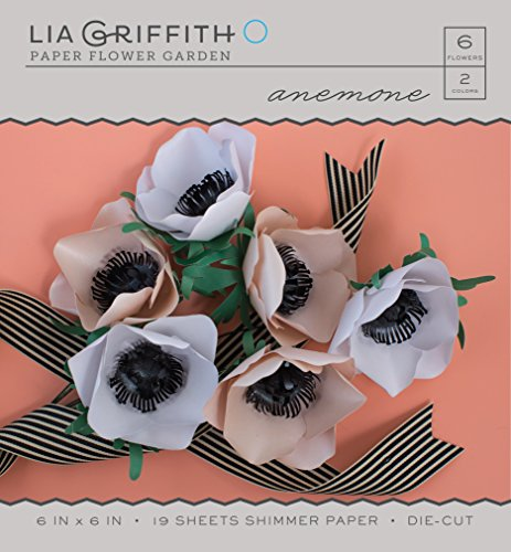 American Crafts Lia Griffith Paper Flower Garden: Anemone