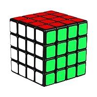 KidsPark 4x4 Rubix Cube, Magic Speed Cube Puzzle Toys For Kids & Adults, Black