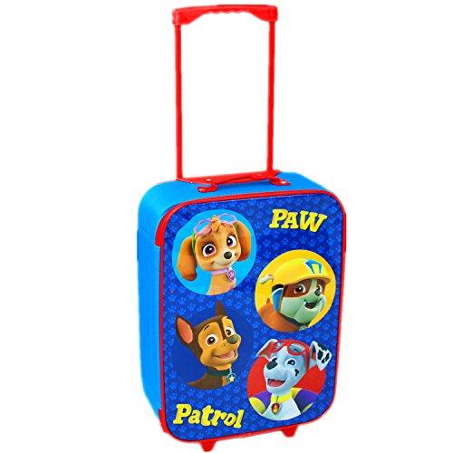 Imagen de nickelodeon, patrulla canina  juego de maleta con ruedas,  escolar y bolsa para el almuerzo, azul, luggage alternativa