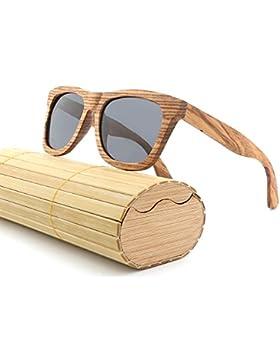 Occhiali da sole polarizzati in legno per uomo e donna Occhiali da sole in legno naturale Eyewear in legno di...