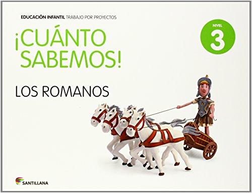 CUANTO SABEMOS NIVEL 3 LOS ROMANOS - 9788468018416