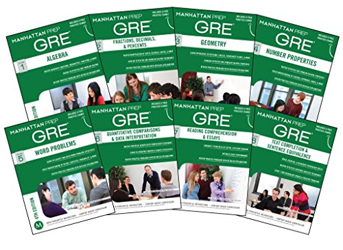 [Manhattan Prep GRE Set of 8 Strategy Guides, 4th Edition] (By: Manhattan Prep) [published: June, 2014]