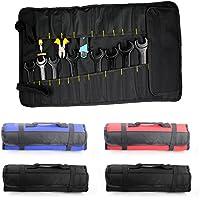 Kicode Aufrollen Schraubenschl/üssel-Organizer-Beutel-Werkzeuge Aufbewahrungstasche Mit 25 Taschen