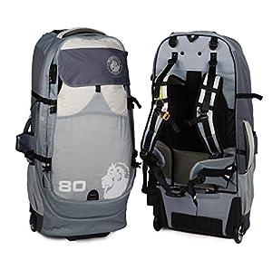 Numinous Packs GlobePacs Anti-Theft Wheeled Luggage, 80 Liter from LifeStraw