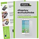 dipos Alcatel One Touch Idol 2 Mini 6016D Schutzfolie (2 Stück) - Antireflex Premium Folie matt (NICHT für Idol 2 Mini S 6036Y)