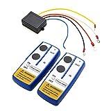 Carrfan Kit di Telecomando per Telecomando per verricello Wireless Universale 12V da 12 V per Jeep ATV SUV