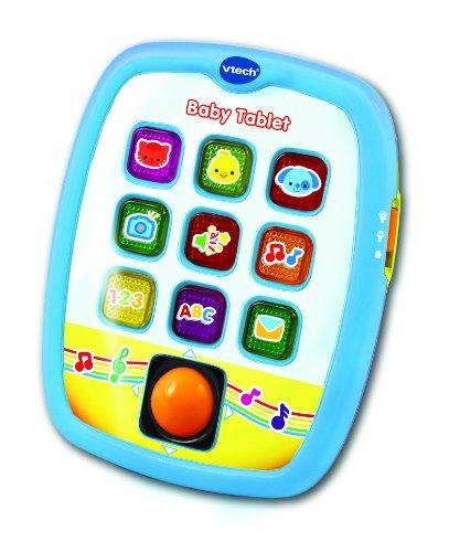 Vtech–3480–138247, Tablet Lernspielzeug für Kinder, mit Liedern und Melodien [Spanische und englische]