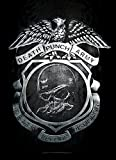 Five Finger Death Punch Flagge Fahne Death Before Dishonor