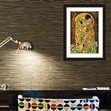 Walplus ' IL BACIO PITTURA ' Poster/Decorazione Adesivi da parete, Multicolore