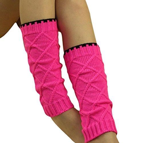 Malloom® invierno niñas calcetines Puños de arranque calentador de