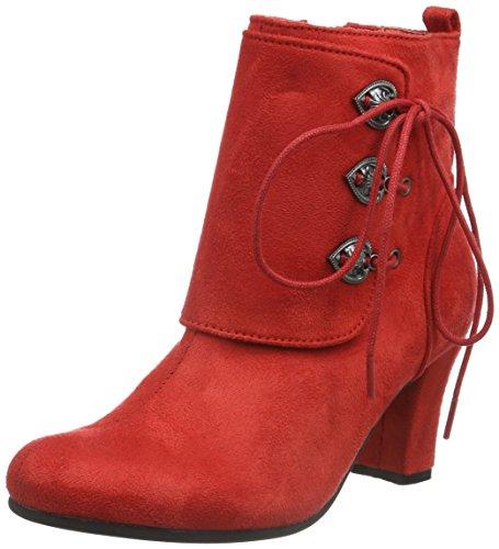 Andrea Conti3612711 - Stivali bassi con imbottitura leggera Donna , Rosso (Rot (Rot 021)), 41 EU