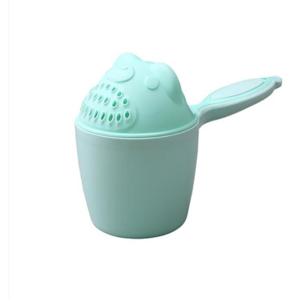 XISHU I bambini shampoo tazza di risciacquo Testa di lavaggio doccia , green