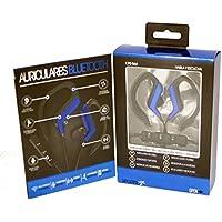 Auriculares bluetooth cascos flexibles recargables con microfono y sonido estereo