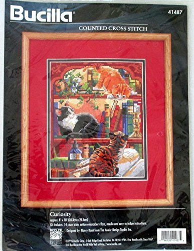 Curiosity - Counted Cross Stitch Kit #41487 by Bucilla Counted Cross Stitch -