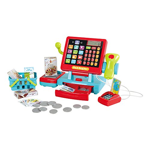 PlayGo Caja registradora táctil eléctrica (Color Baby 44585)