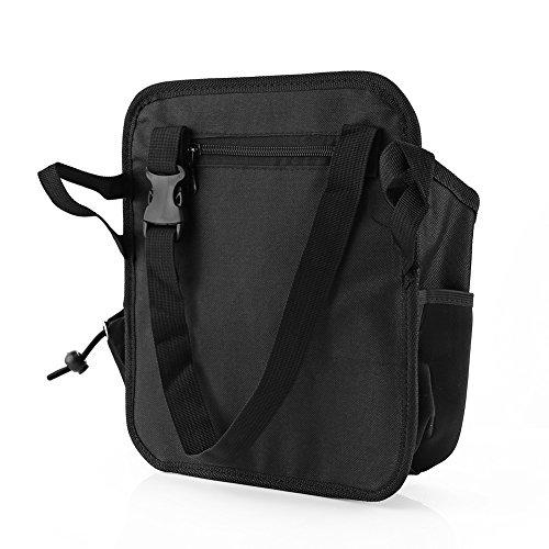 Qiilu Multi-Funktions Wasserdichte Autositz Tasche zurück Organizer Holder Travel Storage Pocket