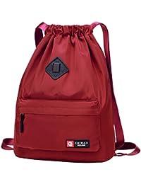 fd4e314decfe1 Webstoff Gym Bag Turnbeutel Rucksack Sporttasche aus Porto Struktur-