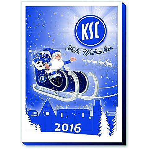Karlsruher SC Weihnachtskalender / gefüllter Adventskalender Modell 2012 KSC