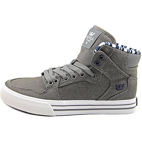 Supra  Vaider, Hohe sneakers homme Grey-White